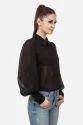 Women Black Georgette Shirt