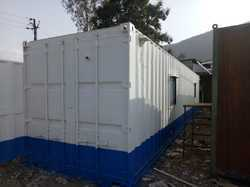 Modification of Shipping Container into Office