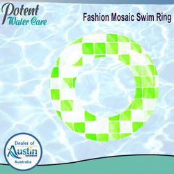Fashion Mosaic Swim Ring