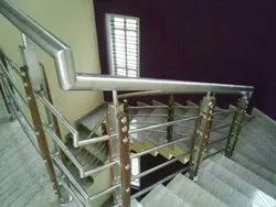 SS Handrail Work Using Baluster