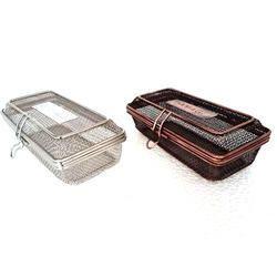 Silver & Smokey Table Service Fryer Baskets