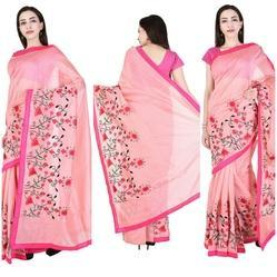 Chnaderi Saree With Aari Work