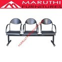 Perforated 3 Seater Chair