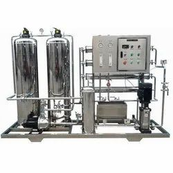 Silver Automatic Industrial Drinking Water Plant