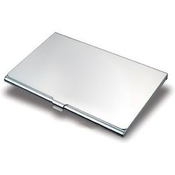 Aluminum Visiting Card Holder
