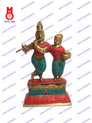 Lord Krishna Radha Standing Statues