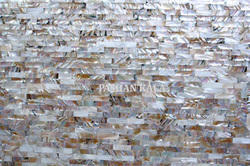 Beautiful Mother of Pearl Wall Slab