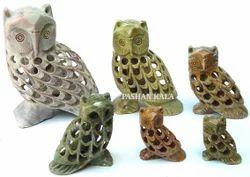 Soapstone Owl Animal