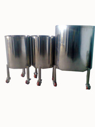 Syrup Manufacturing Machines Storage Tank Stainless
