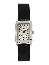 Omax Analog Silver Dial Women Watch