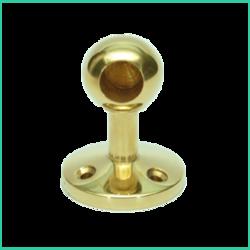 Ball Post End - Short ( Brass)