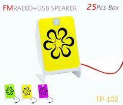 102 FM   USB SPEAKER