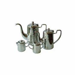 SS Coffee Pots W Milk & Sugar Pot