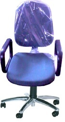 Chrome Star Base ESD Chair With Arms