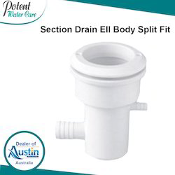 Section Drain Ell Body Split Fit