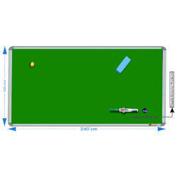 Smcbg120240 Green Chalk Board