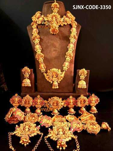 Bridal Imitation Jewellery Traditional Temple Bridal