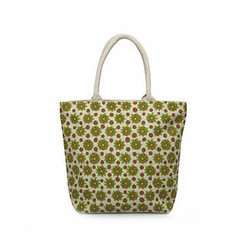 Juteberry Jute Bags Small Floral Print Bag