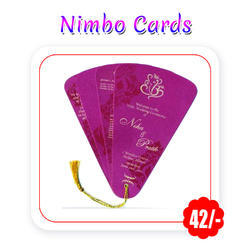 Multi Colors - Wedding Cards(Nimbo - A3 Size/ 300 Gsm)