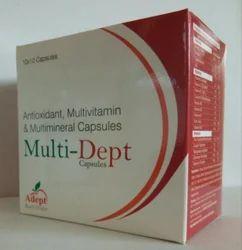 Multivitamins, Multiminerals & Antioxidant Capsule