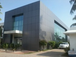 Acp Cladding Work