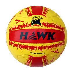 Hawk Throw Rubberized Sports Ball