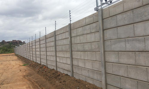 Prefabricated Compound Wall : Prestressed precast system and compound wall manufacturer