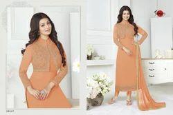 Full Sleeve Collar Neck Suhati Special Salwar Suit