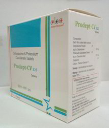 Cefpodoxime Proxetil and  Clavulanic Acid Tablet