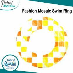 Fashion Mosaic Swim Ring