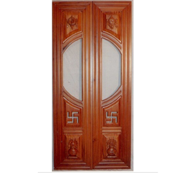 Six Panel Temple Door