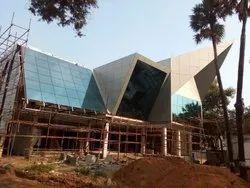 Aluminium Structural Glazing Work