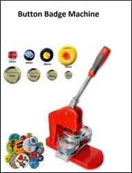 Button Badge Machine 44 mm