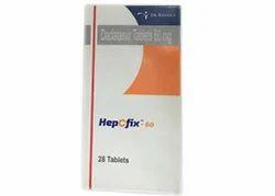 Daclatasvir 60mg HepCfix Tablets