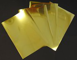 Gold Polished Stainless Steel Sheets