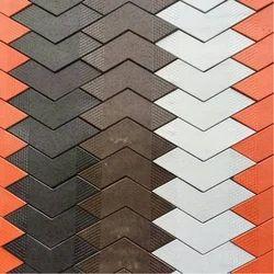 V Shaped Paver Tiles Mould