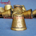 Small Rustic Golden Metal Cow Bells of Small Size and custom