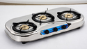 SS Three Burner LPG Gas Stove
