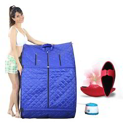 Portable Steam Sauna Bath & Body Shaping Slimming Shoes