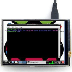 3.5 Inch TFT Resistive Touch Screen Panel for Raspberry Pi