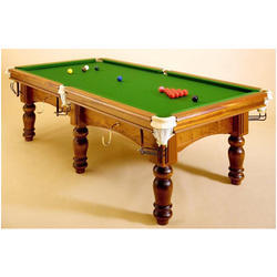 Natural Finish Pool Table With Indian Slate