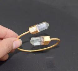 Crystal Quartz Bangles