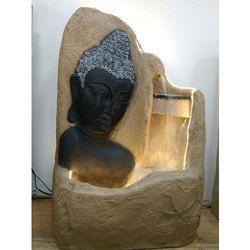 Decorative Fountains Indoor Indoor water fountain buddha tabletop fountain manufacturer from decorative indoor frp fountains get best quote workwithnaturefo