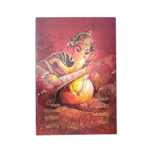 Invitation Card Ganesha Printed Wedding Invitation Card Wholesale