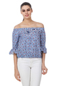 Floral Print Ladies Cotton Top
