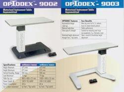 Optodex Instrument Table