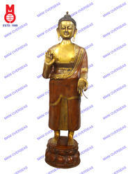 Lord Buddha Standing Blessing Hand Statue