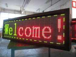 LED Moving Message Board