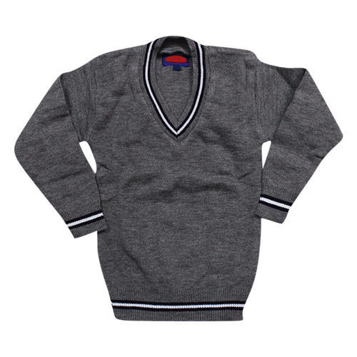 School Sweater Three Lines Attached School Sweater Manufacturer