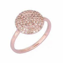 9K Rose Gold Diamond Wedding Ring